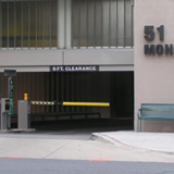 51 Monroe Street Parking Garage Entrance