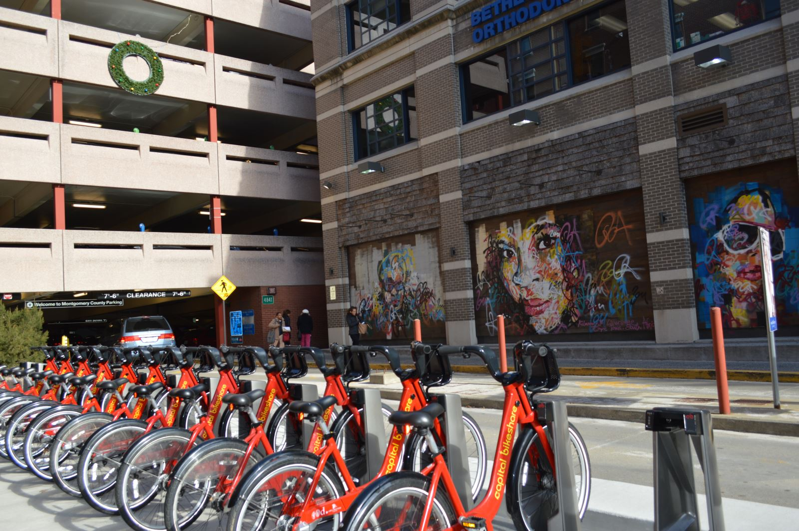 Bikeshare at Bethesda-Elm Garage