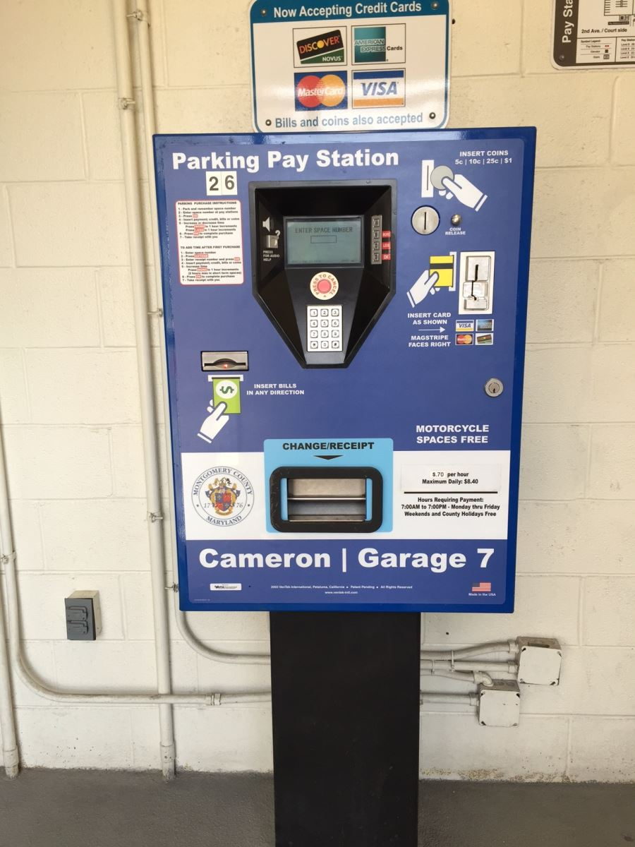 Pay by Space