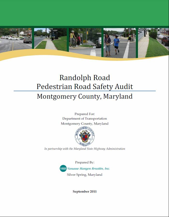 Randolph Road PRSA Summary Report