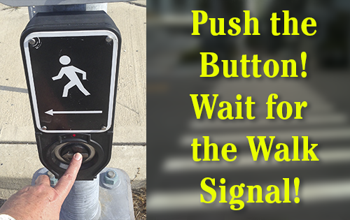 Button - wait for the walk signal