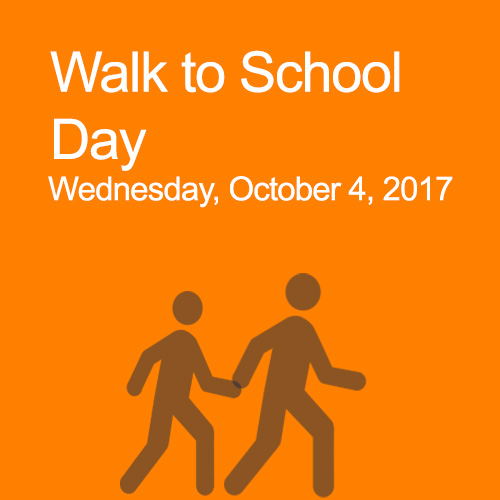 Walk to School Day 2017