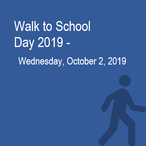 Walk to School Day Contest