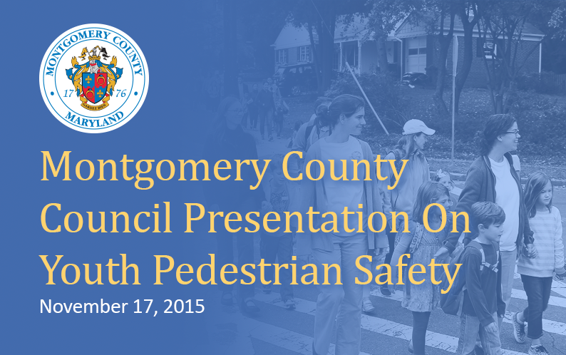 MOCO Presentastion on Youth Ped. Safety