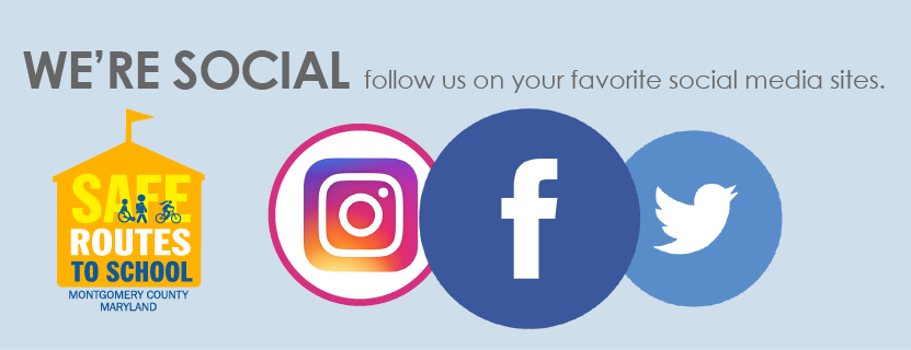 We're Social - follow us on your favorite social media sites.