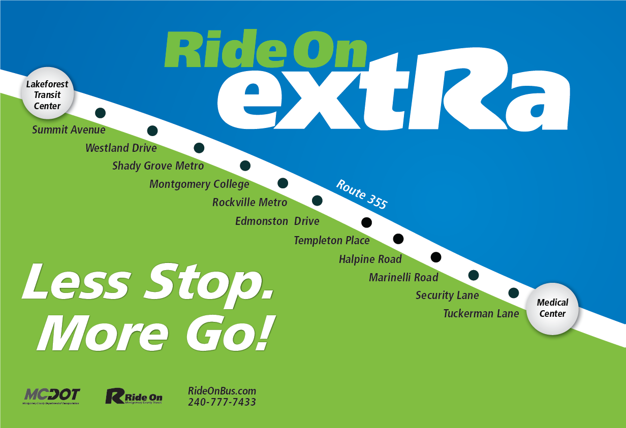 Ride On Extra - Less stop. More go!