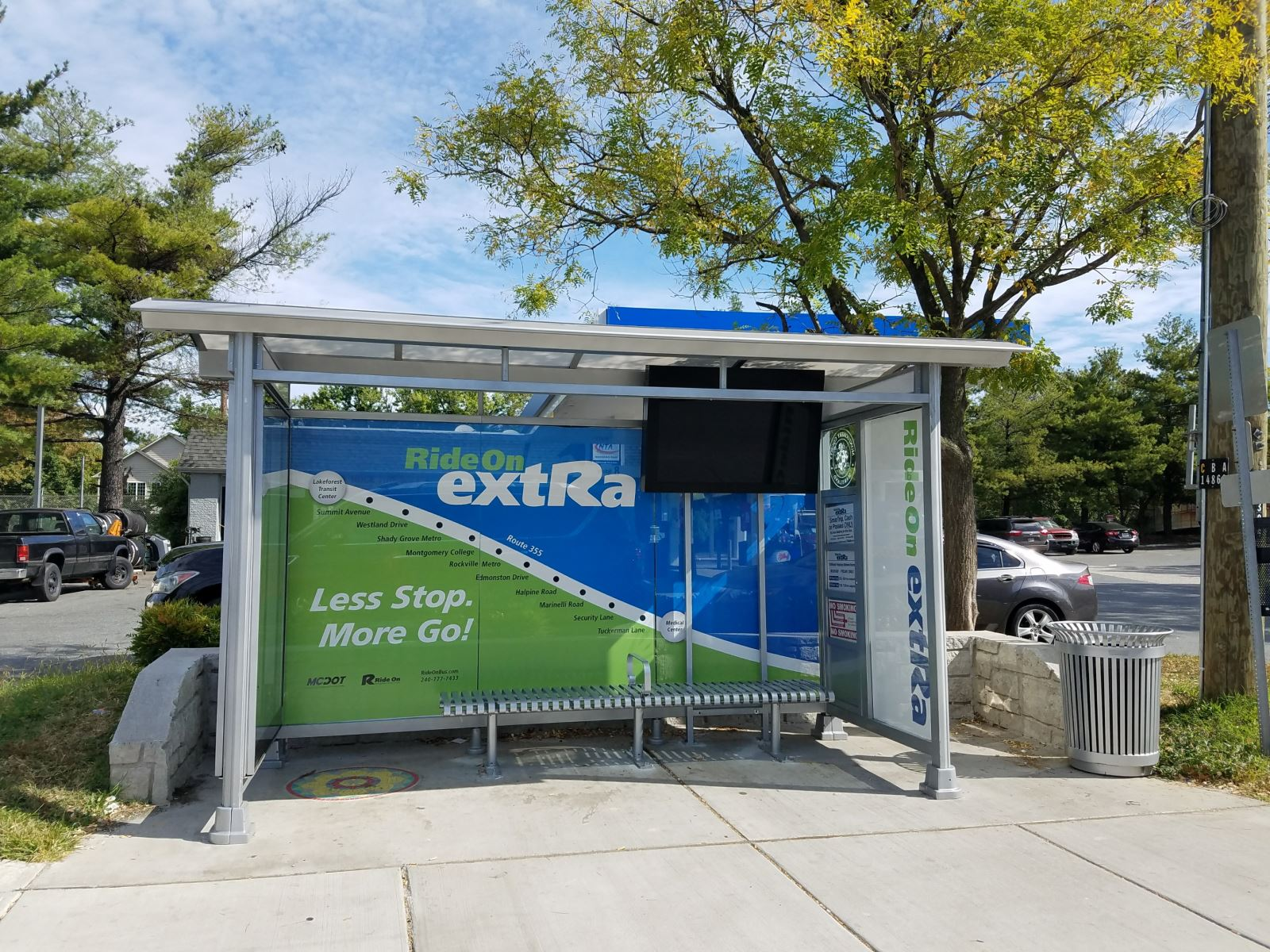 Ride On Extra bus stop