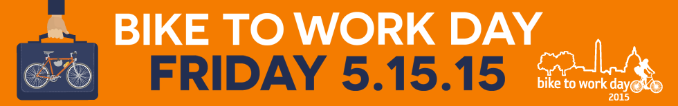 Click here to register for free for Bike To Work Day 2015!