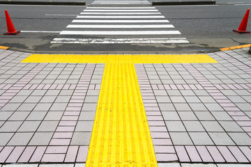 visually impaired pedestrian navigation photo