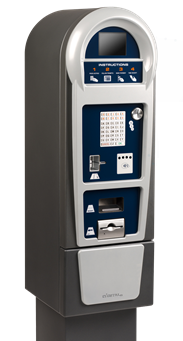 Pay by space parking system