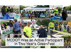 MCDOT at Greenfest