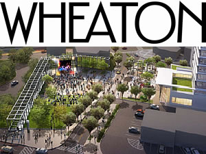 Wheaton Redevelopment Meeting announcement