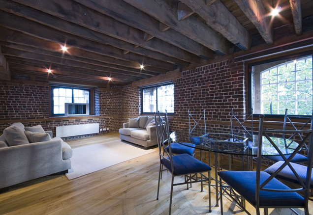 Converted warehouse to condominiums