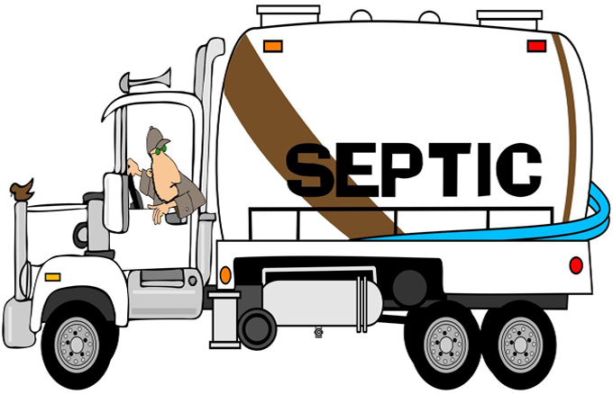 Graphic of Septic Truck