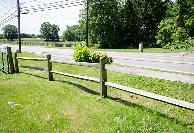 Fence in an established Easement