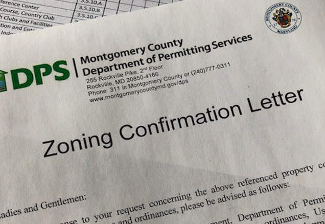 Sample of DPS Zoning Confirmation Letter