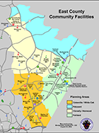 eastern county map