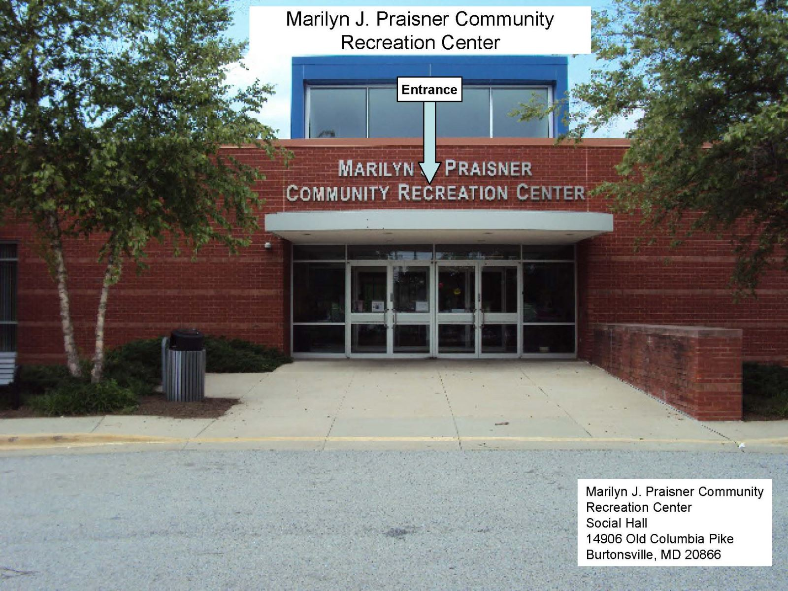 Marilyn Praisner Community Rec Center