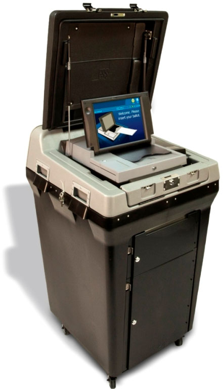 DS200 Precinct Scanner and Tabulator