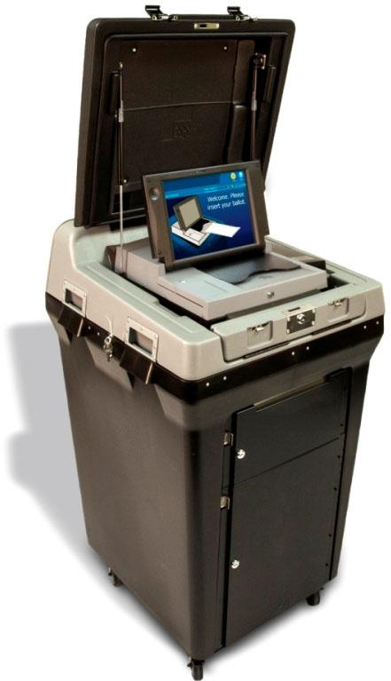 DS200 Precinct Scanner and Tabulator