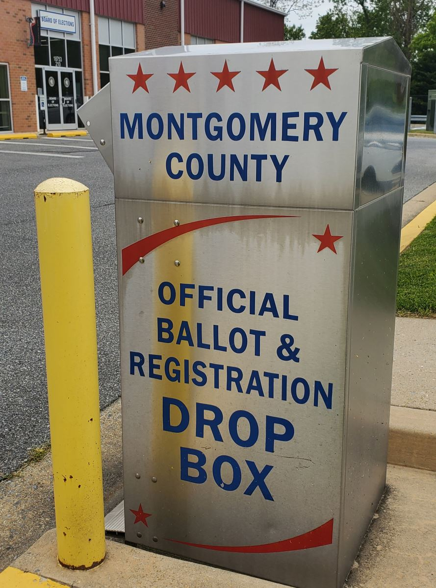 Montgomery County Official Ballot Drop Box