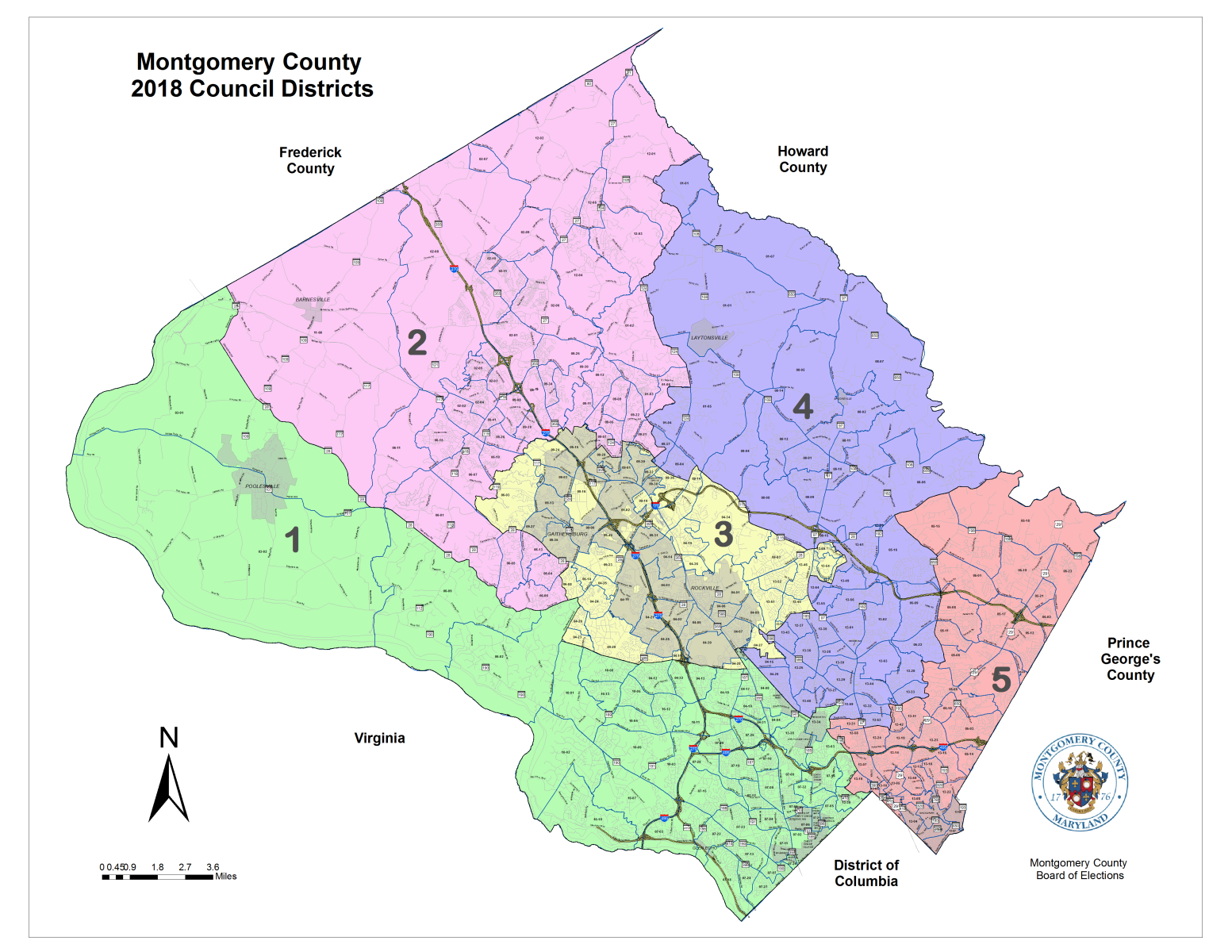 Montco Campus Map.Election Maps