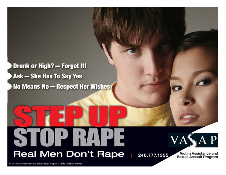 Step Up Stop Rape