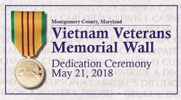 Vietnam Veterans Memorial Wall Dedication Ceremony