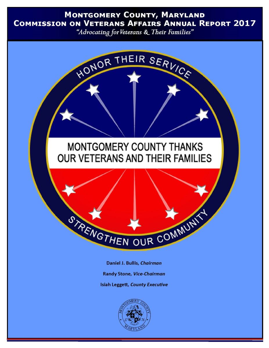 Commission on Veterans Affairs 2016 Annual Report Cover