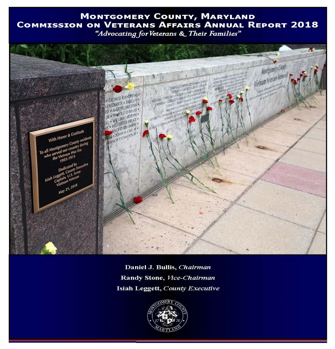 Commission on Veterans Affairs 2018 Annual Report Cover
