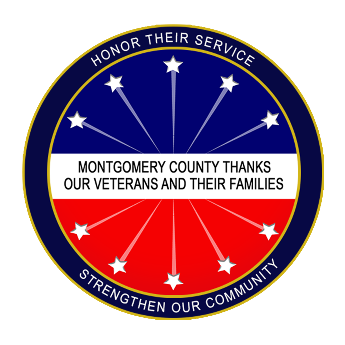 Montgomery County Thanks Our Veterans and Their Families - Honor Their Service; Strengthen Our Community