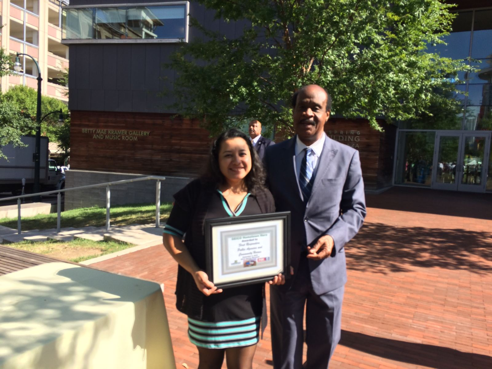 County Executive Leggett Honors the TESS Center