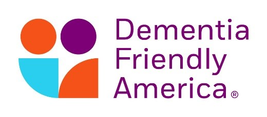 logo and text of dementia friendly america