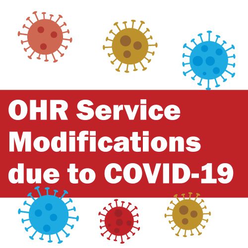 OHR Service Modifications