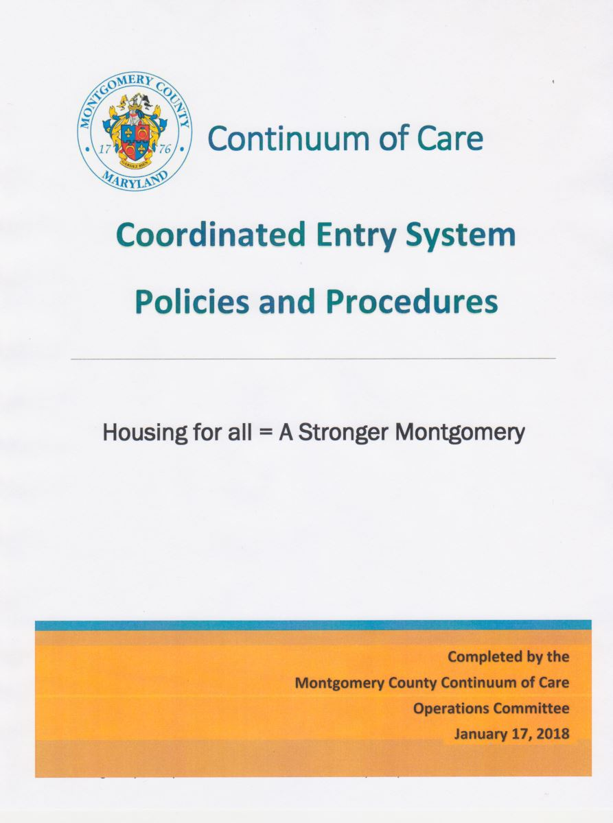 Coordinated Entry System Policies and Procedures
