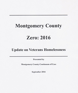 Report: Update on Veteran Homelessness