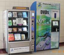 book and dvd kiosks
