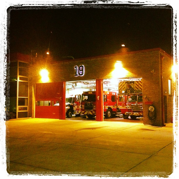 photo of fire station number 19