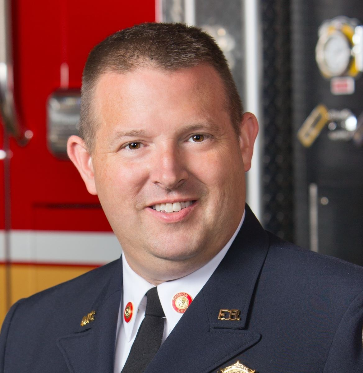 Acting Fire Chief Scott Goldstein