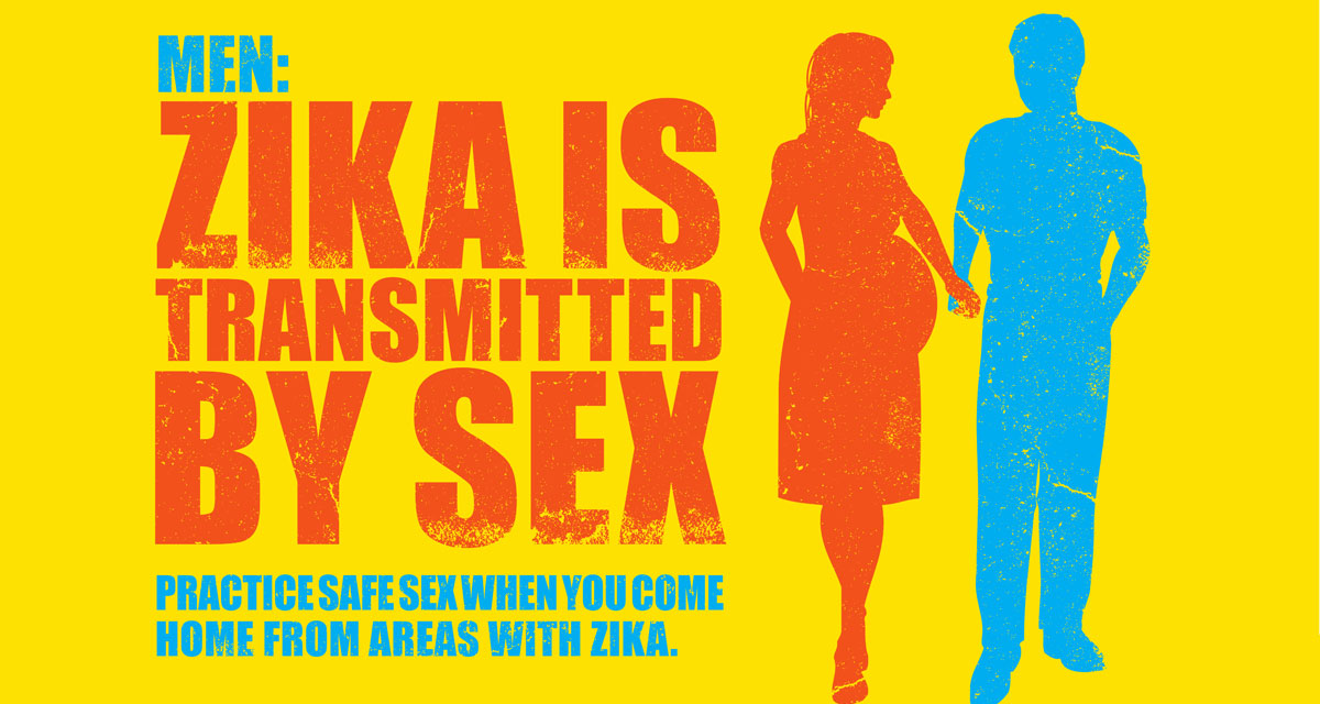 men: zika is transmitted by sex