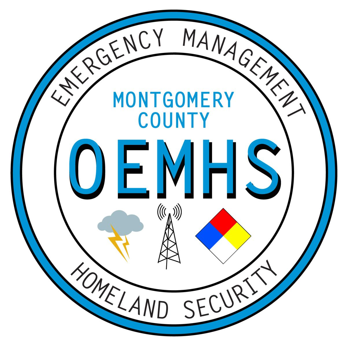 Logo for Office of Emergency Management and Homeland Security