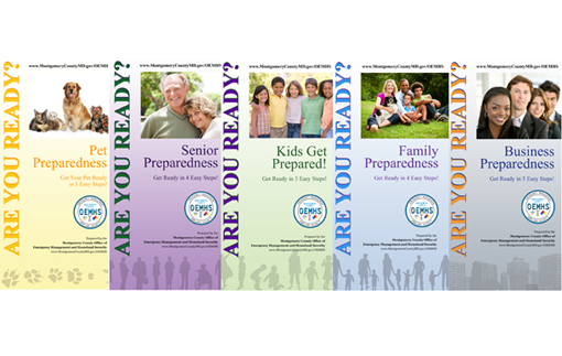 New OEMHS preparedness brochures