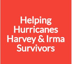Click Here to learn how you can help Survivors of Hurricanes Harvey and Irma