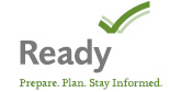 Ready: Prepare, plan, stay informed