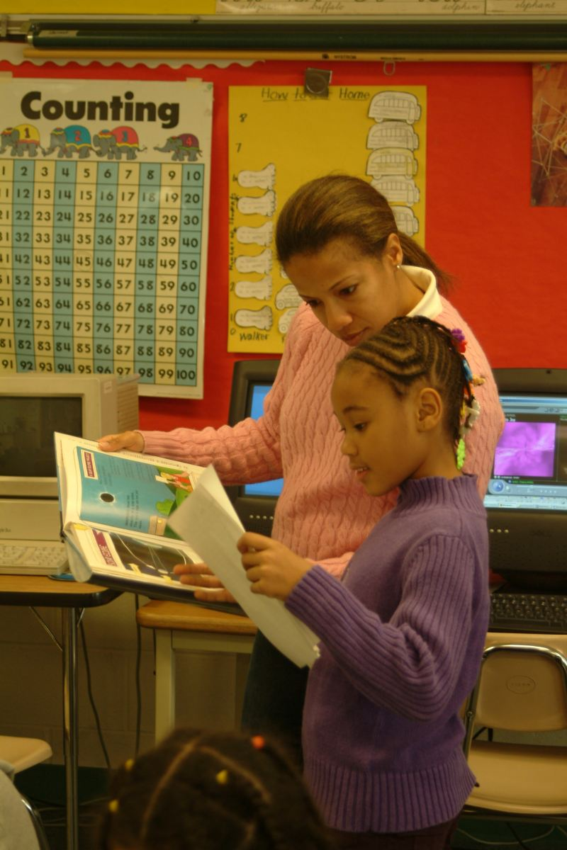 Learning at Forest Knolls Elementary School