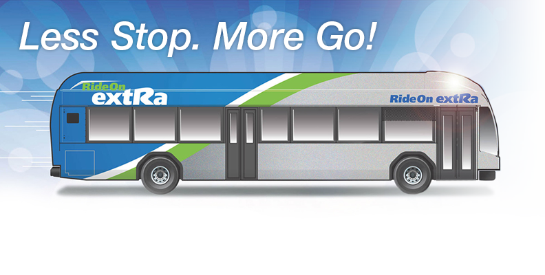 ride on extra. less stop. more go!