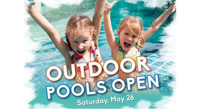 outdoor pool open
