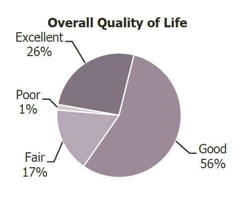 overall quality of life