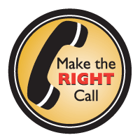 make the right call