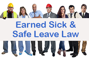 Earned Sick and Safe Leave Law